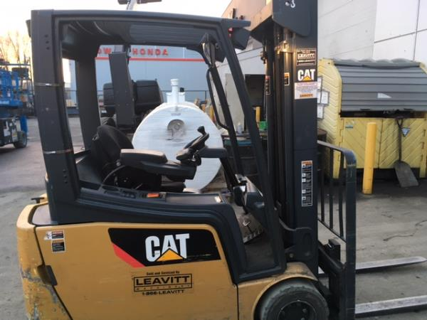 CAT SKID STEER SWEEPER 3